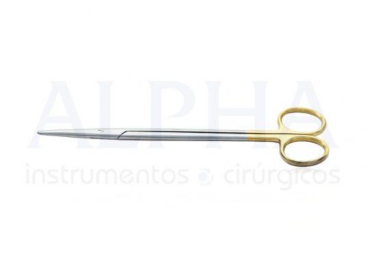 Tesoura Metzembaum reta 18cm