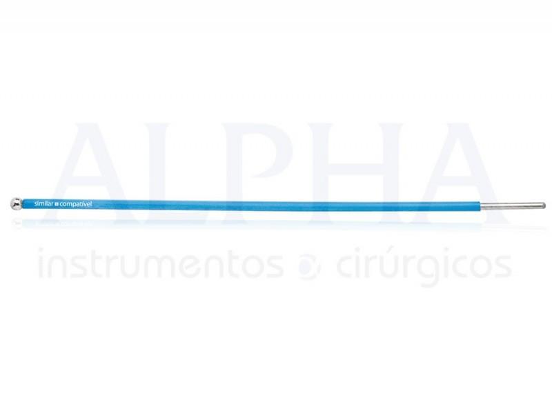 Eletrodo ponta bola - Corpo ø 1,60mm x 120mm - Ponta ø 4,0mm