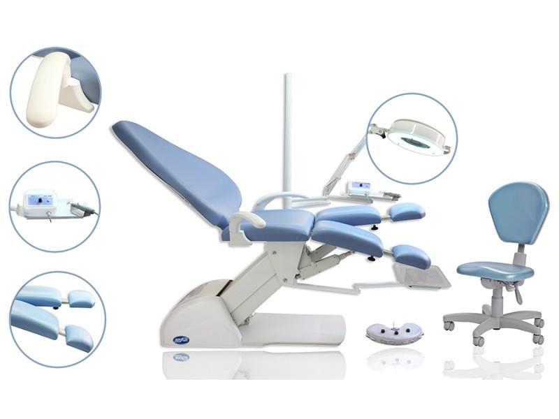 Cadeira para podologia completa Dentscler