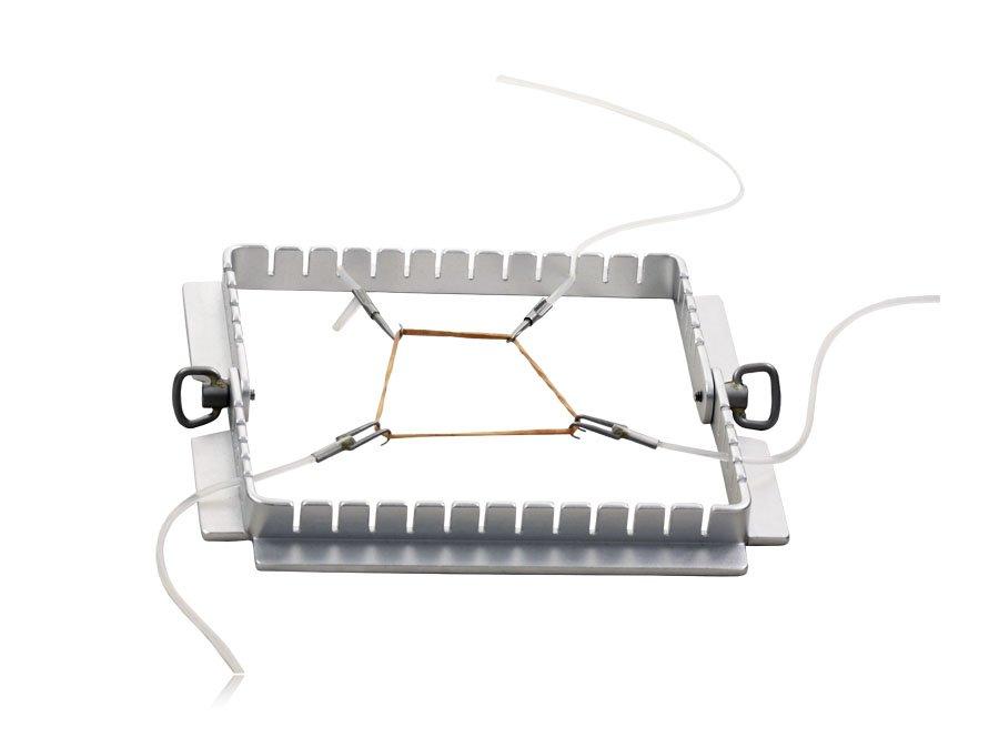 Afastador autoestático mini - quadrado com 8 ganchos