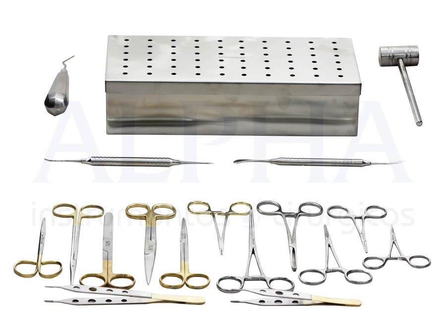 Caixa compacta para cirurgia ortognática Prof. Dr. José Augusto G. P. de Oliveira