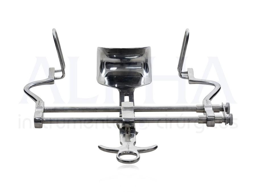 Afastador Baufour com Válvula Curva 45x80mm