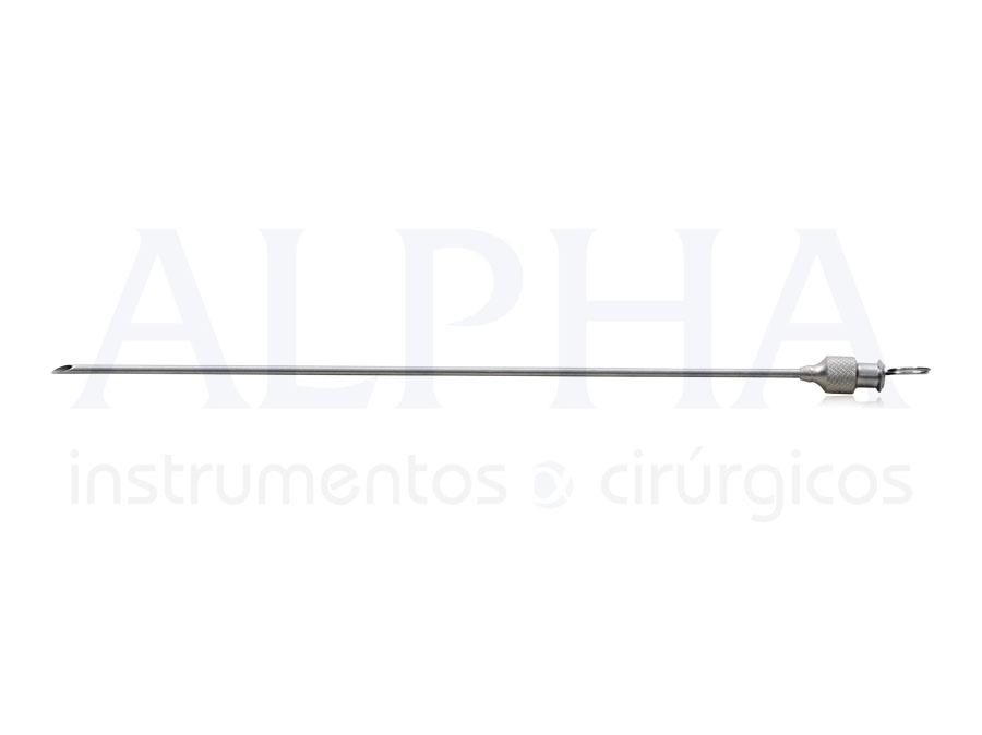 Cânula Seringa 20 ml RH15 - 2 mm x 15 cm
